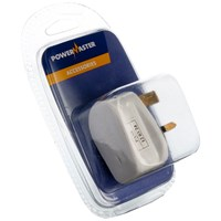 Powermaster  Plug Top White - 13 Amp