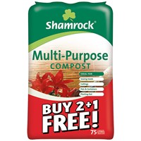 Multi-Purpose Compost 75 Litre - Buy 2 Get 1 Free