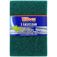 Killeen  Standard Easiclean Scourer - 3 Pack