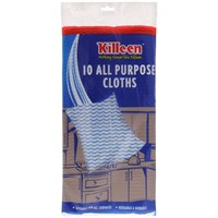 Killeen  All Purpose Cloths - 10 Pack