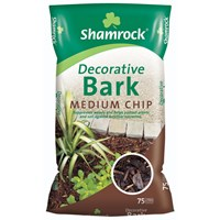 Shamrock  Medium Chip Decorative Bark - 75 Litres