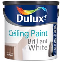 Dulux  Ceiling Paint Matt Brilliant White - 2.5 Litre