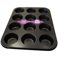Just Cook  Muffin Tray - 12 Cups