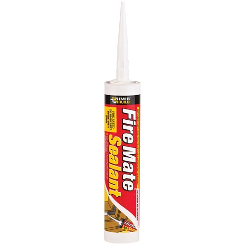 Everbuild  Firemate Sealant 310ml - White