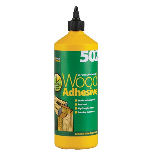 Everbuild  All Purpose Wood Adhesive Bottle - 1 Litre
