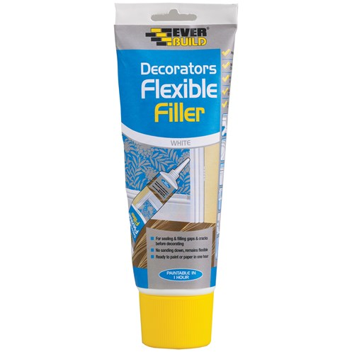 Everbuild  Easi Squeeze Flexible Decorators Filler 210ml - White