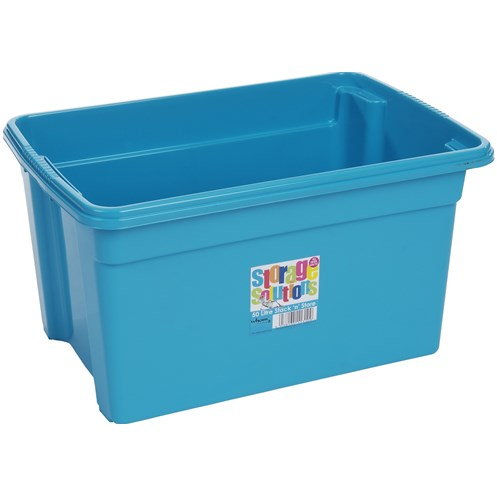 Wham  Stack & Store Storage Box Blueberry - 50 Litre