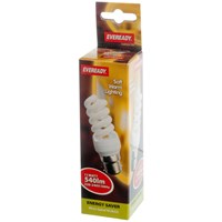 Eveready  CFL Spiral Soft Lite Light Bulb - 11W BC