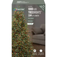 Premier  1000 LED Multi-Action Treebrights w/ Timer - Multi-Coloured