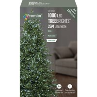 Premier  1000 LED Multi-Action Treebrights with Timer - White