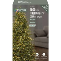 Premier  1000 LED Multi-Action Treebrights with Timer - Warm White