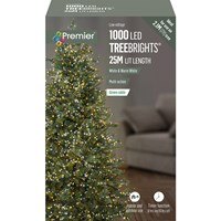 Premier  1000 LED Multi-Action Treebrights w/ Timer White/Warm White