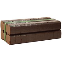 Smokeless Peat Briquettes