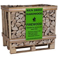 Kiln Dried Log Crate - 400kg