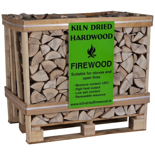 Bord na Móna  Kiln Dried Log Crate - 400kg