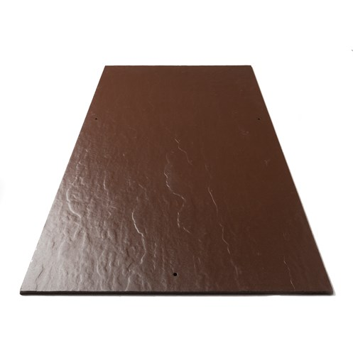 Tegral Thrutone Plus Coloured Relief Slates 600 x 300mm - Turf Brown