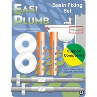 Easi Plumb  Stainless Steel Basin Fixing Set