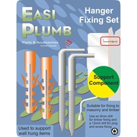 Easi Plumb  Stainless Steel Hanger Fixing Set
