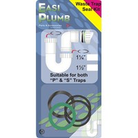Easi Plumb  Replacement Waste Trap Seal Kit