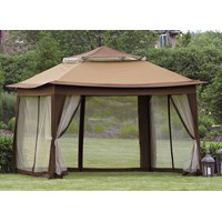 Deluxe Pop Up Gazebo - 3 x 3m