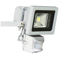 XQLITE  SMD LED Floodlight with Motion Sensor - 10W