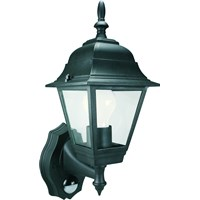 Elro  Coach Lantern with Motion Sensor - Black